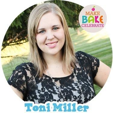 Toni Miller of Make. Bake. Celebrate.