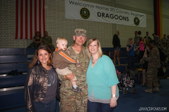 The Eves Family - Afghanistan Homecoming 2 April 2014 - Vilseck, Germany | JavaCupcake.com