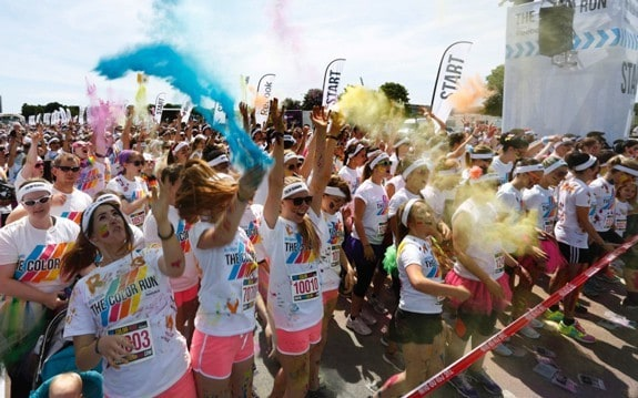 The Color Run Nürnberg - Photo: © Stefan Hippel
