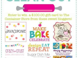 The Great Baking Closet Clean Out - See how your favorite bloggers organize their supplies! | JavaCupcake.com