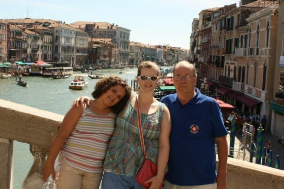 Italy with Dad Emme