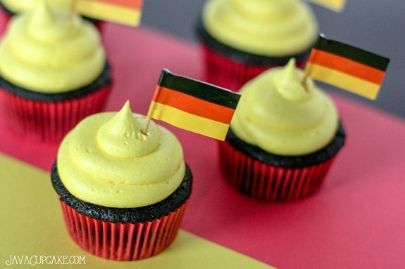 Argentina Germany World Cup Cake