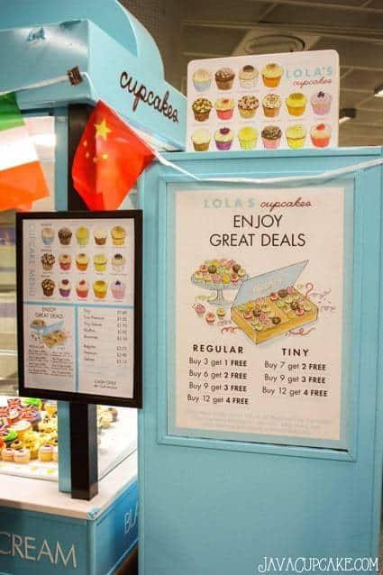 {Review} Lola's Cupcakes - London, England   JavaCupcake.com