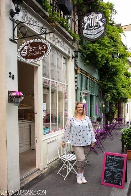 {Review} Bertie's Cupcakery - Paris, France | JavaCupcake.com