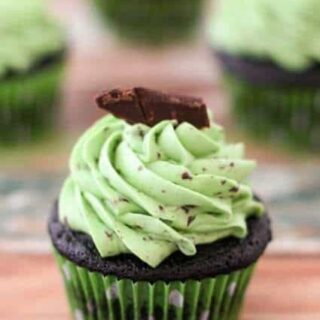 Chocolate Chip Mint Cupcakes