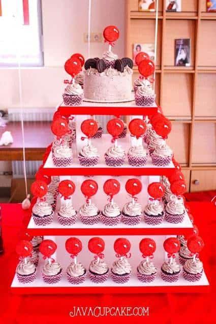 DIY Cupcake Tower | JavaCupcake.com