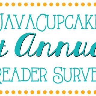 JavaCupcake 1st Annual Reader Survey