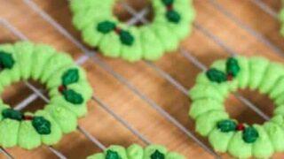 Gluten-free Spritz Cookies   JavaCupcake.com