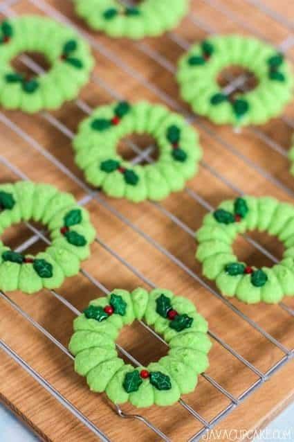 Gluten Free Spritz Cookies (with gluten-free flour)