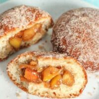 Apple Filled Doughnuts