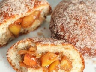 Apple Filled Doughnuts | JavaCupcake.com