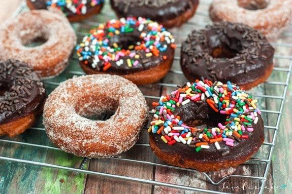 Farmhouse Style Doughnuts | JavaCupcake.com