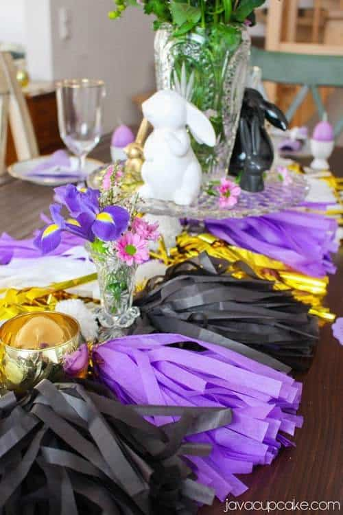 Creating a Glam Easter Brunch & Tablescape on a Budget | JavaCupcake.com