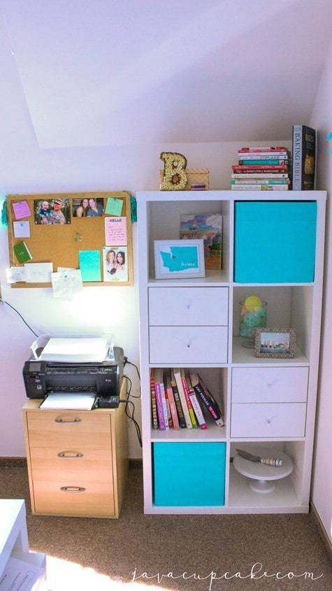 Home Office Makeover | JavaCupcake.com