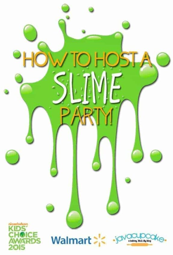 How to Host a Slime Party | JavavCupcake.com #ReadySetSlime