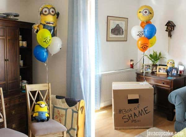 Minion Birthday Party | JavaCupcake.com