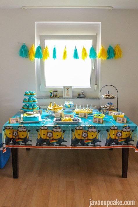 Minion Birthday Party