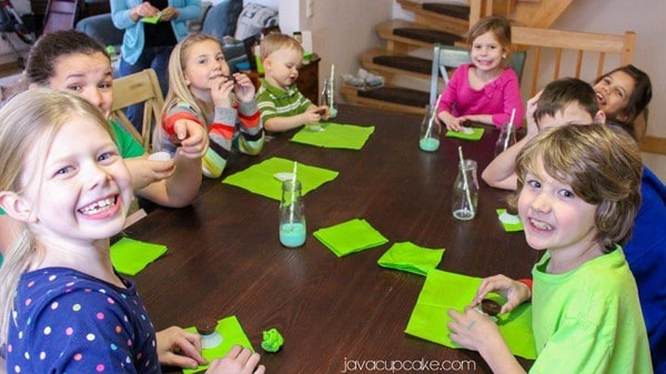 How to Host a Slime Party: Slime-filled Chocolates | JavaCupcake.com #ReadySetSlime