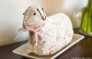 Osterlamm – German Easter Lamb Cake