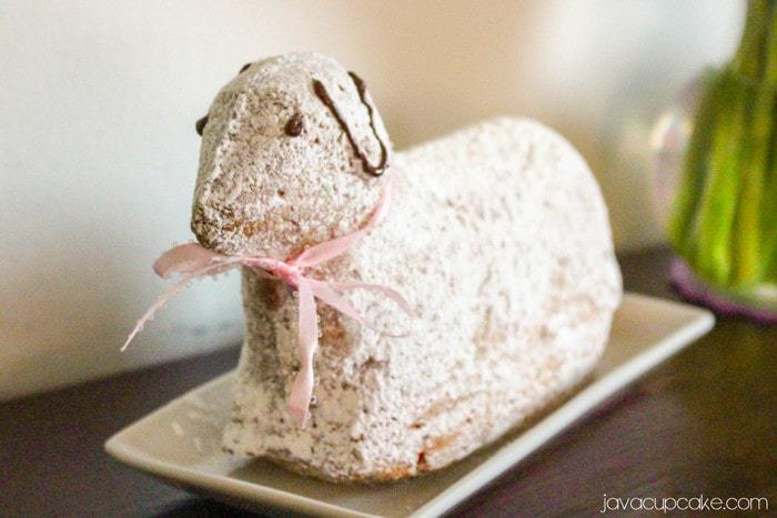 Osterlamm – German Easter Lamb Cake