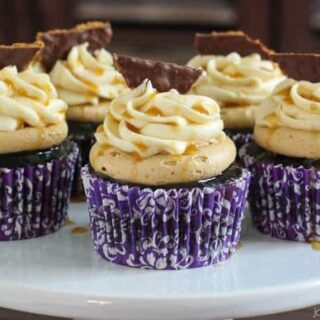 Guinness Bailey's Biscoff Chocolate Cupcakes – The Most Epic Cupcakes Ever!