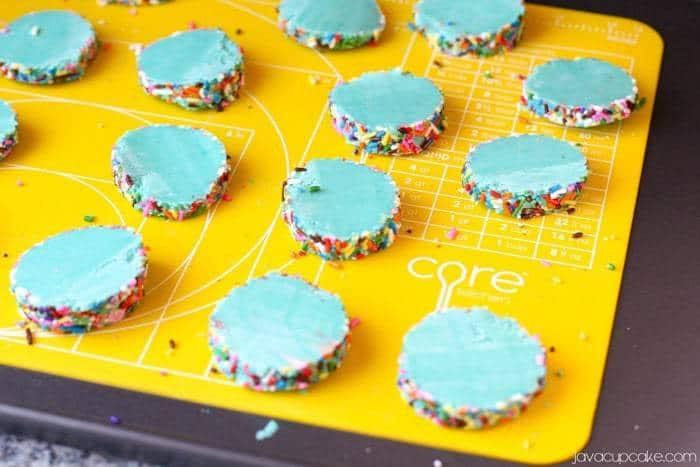 Kaleidoscope Cookies | JavaCupcake.com #CoreHome