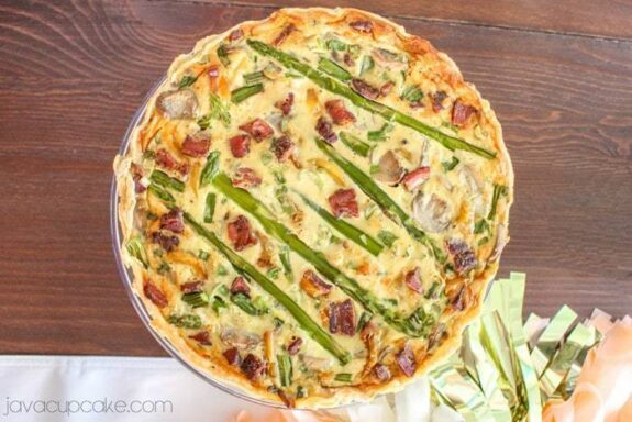 Asparagus Bacon Quiche
