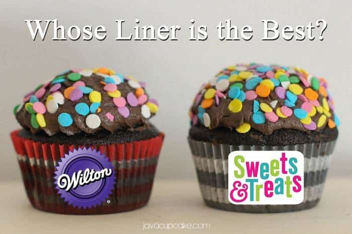 Wilton Liners vs Sweets & Treats Boutique Liners - Whose are the best? Find out on JavaCupcake.com