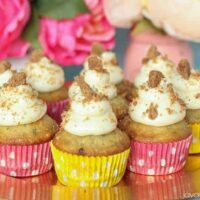 Chocolate Chip Banana Bread Cupcakes