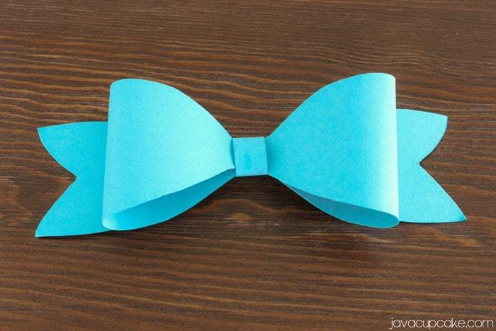 DIY Paper Bows - A Complete Tutorial by JavaCupcake.com