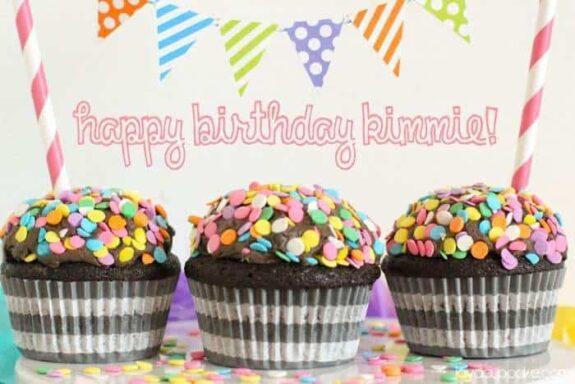 Drunken Chocolate Cupcakes | JavaCupcake.com