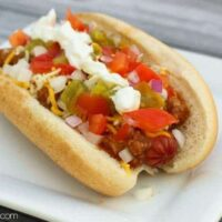 The Ultimate Chili Dog
