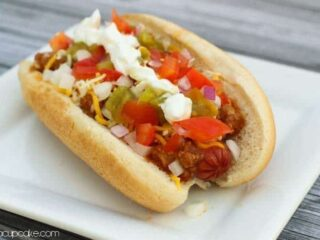 The Ultimate Chili Dog | JavaCupcake.com
