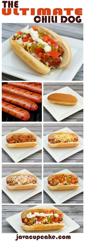 Celebrate National Hot Dog Day with The Ultimate Chili Dog! | JavaCupcake.com