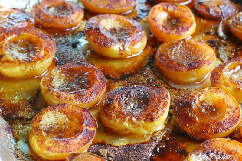 Roasted Apricot and Peach Cake | JavaCupcake.com