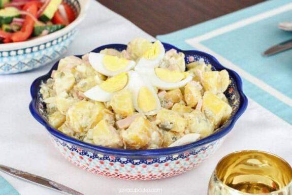 Bavarian Potato Salad | JavaCupcake.com