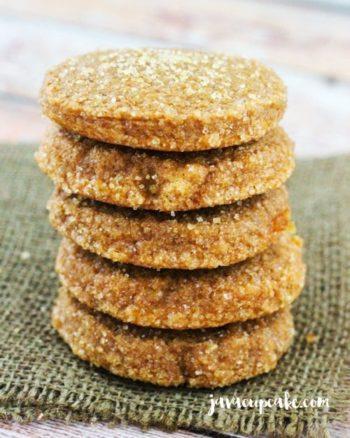 Pumpkin Spice Molasses Cookies | JavaCupcake.com