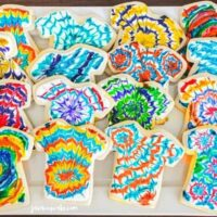 Tie Dye Tuesday - Tie Dye Cookies