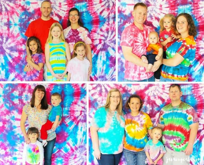 Host a Tie Dye Party! Decor, desserts and game ideas... all without actually Tie Dying! #TieDyeTuesday - Colors Scavenger Hunt | JavaCupcake.com