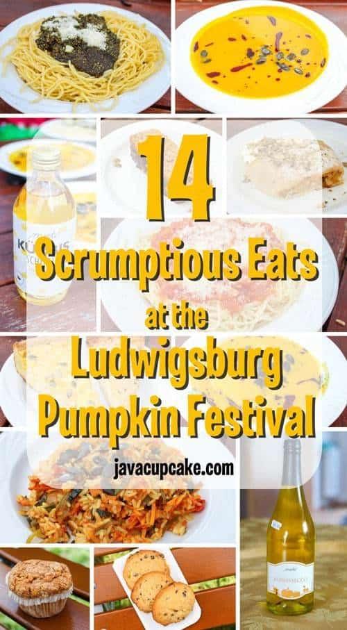 14 Scrumptious Eats at the Ludwigsburg Pumpkin Festival | JavaCupcake.com