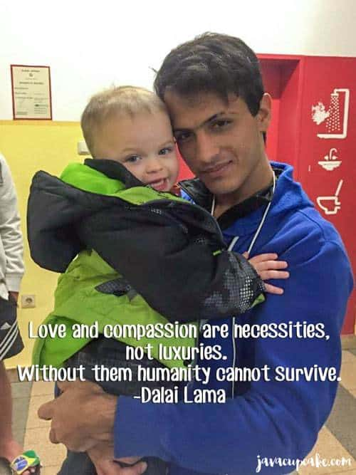 An Experience in Humanity - My time with the Refugees in Germany | JavaCupcake.com