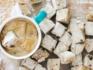 Candied Coffee Marshmallows | JavaCupcake.com