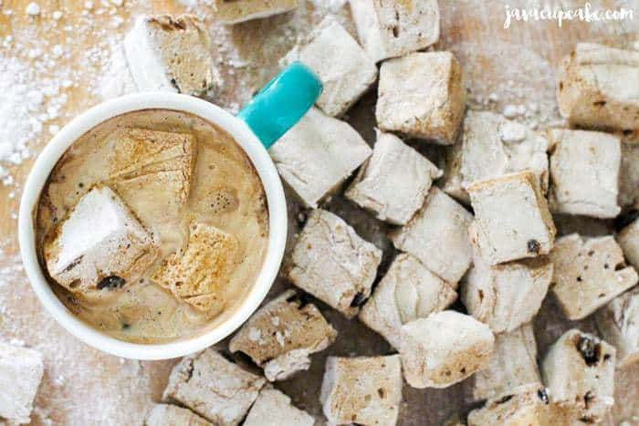 Candied Coffee Marshmallows | JavaCupcake.com