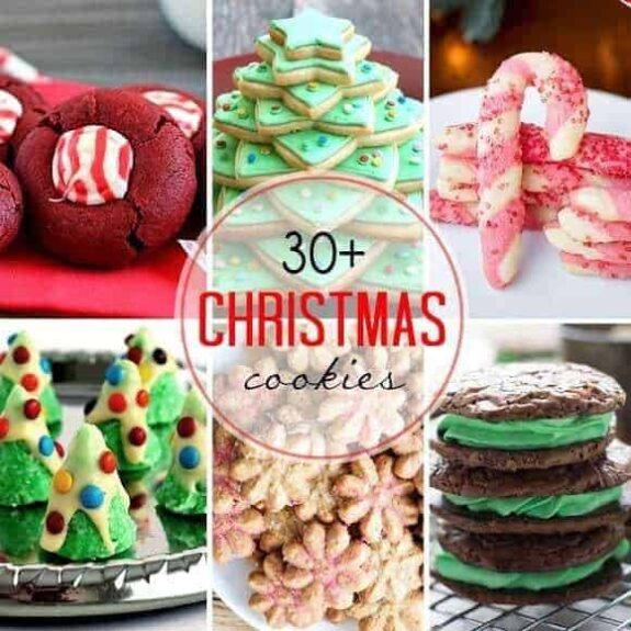 30+ Must-Bake Christmas Cookies | JavaCupcake.com