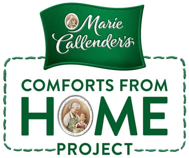 Marie Calender's Comforts from Home Program helps to support USO Operation Celebration. Share your comforts of home and support the USO!   JavaCupcake.com #comfortsfromhome