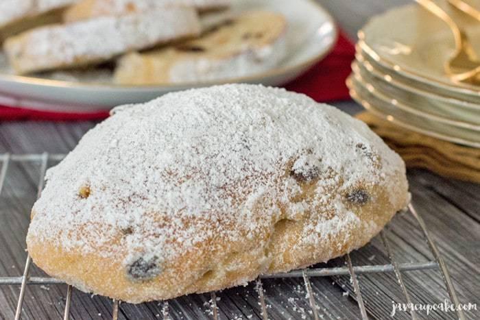 German Christmas Stollen | JavaCupcake.com