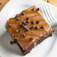 Extreme Chocolate Poke Cake