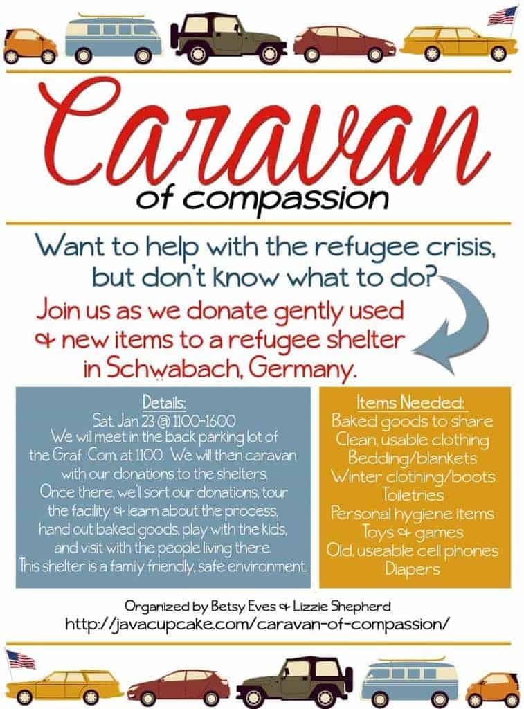 Caravan of Compassion updated