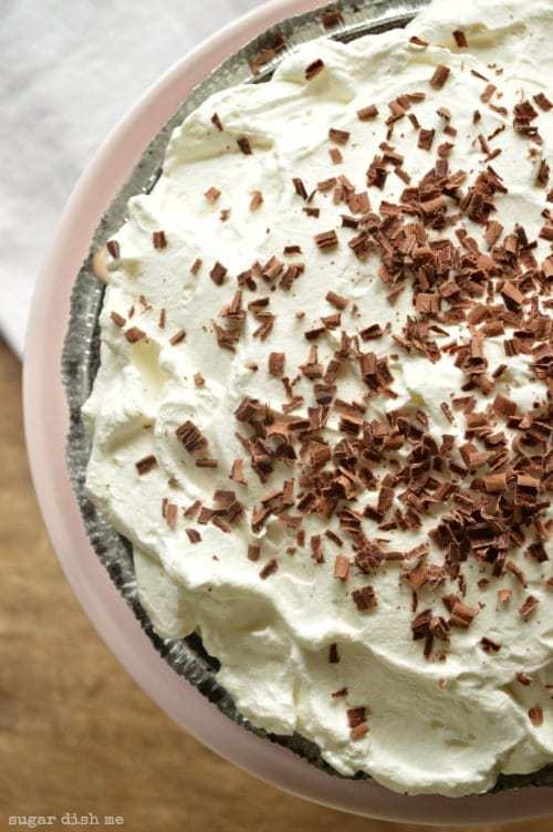 No Bake Mocha Latte Pie Recipe