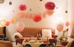 Pink and Gold Soiree